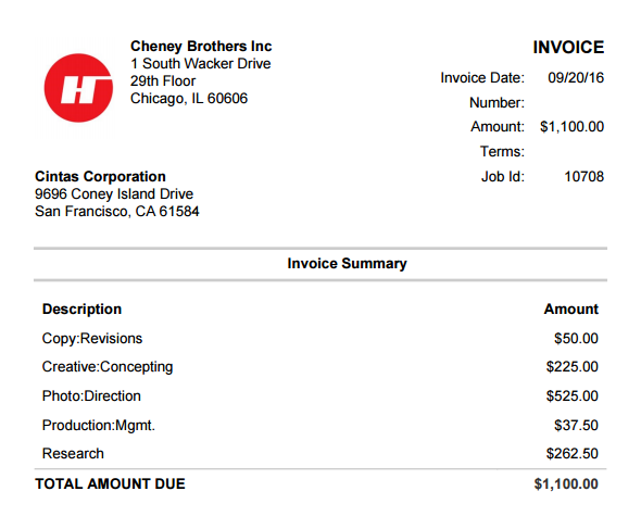 Great Printing Invoices And PDF Formats To Printing Invoice